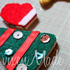 DIY Felt Holiday Magnets